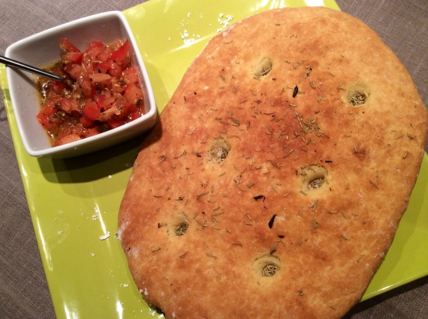 focaccia bread recipe french gluten free gourmet fougasse style