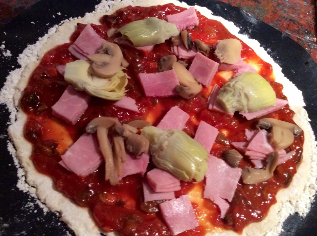 pizza before cooking