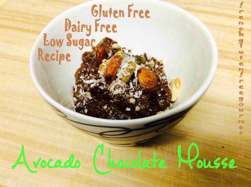 avocado alkaline chocolat mousse GF dairy free