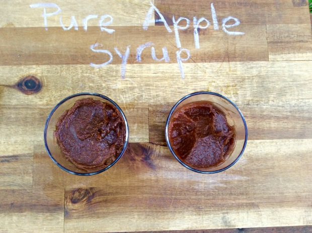 pure apple syrup